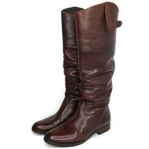 Golden Goose Disstressed  Leather Riding Boots
